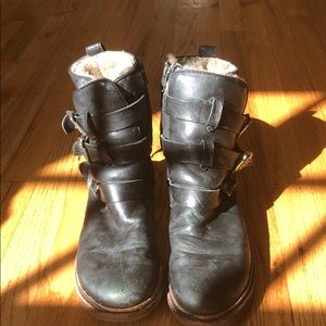 Frye Shearling Lined Boots